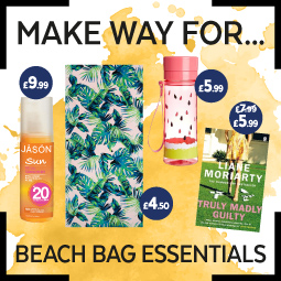 Beach Bag Essentials for under £10