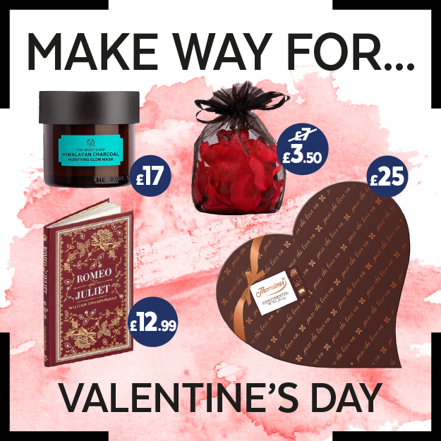 Valentine's Day Gifts for under £30