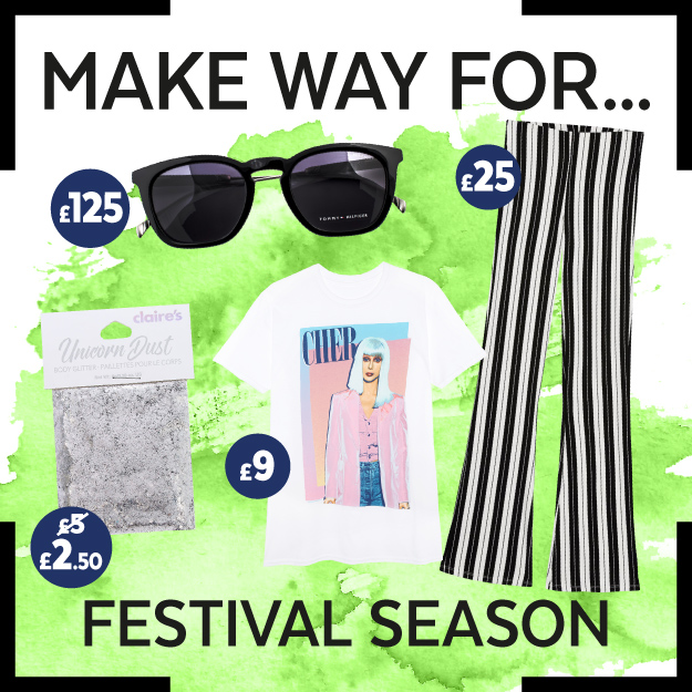 Get the Look: Festival Season