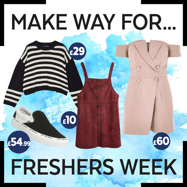 Get The Look – Freshers' Week Fashion