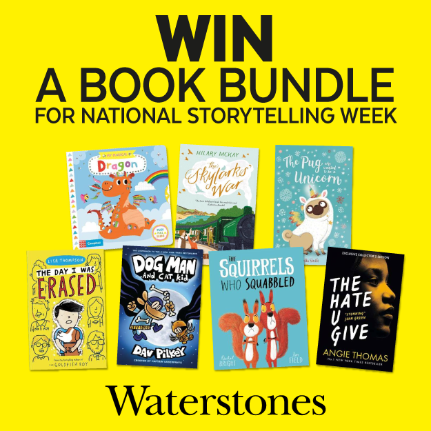 Terms and Conditions – National Storytelling Week Competition, Collaboration with Waterstones