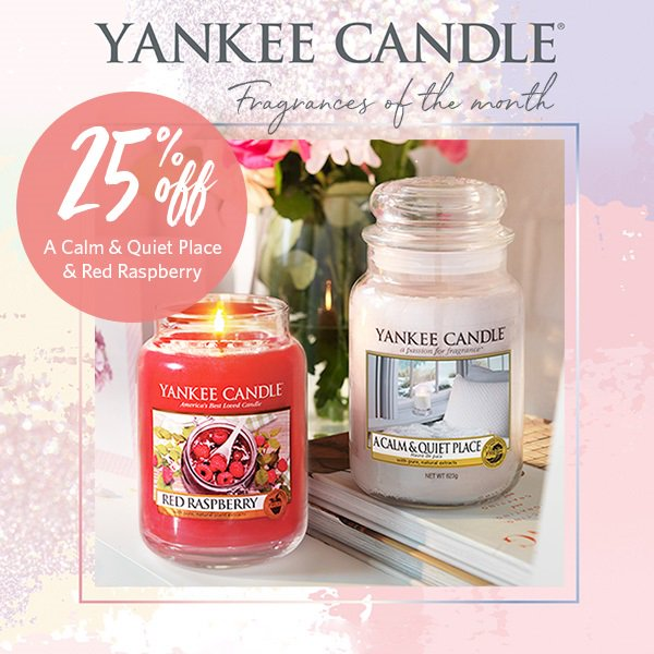 Yankee Candles – Fragrances of the Month at Clintons