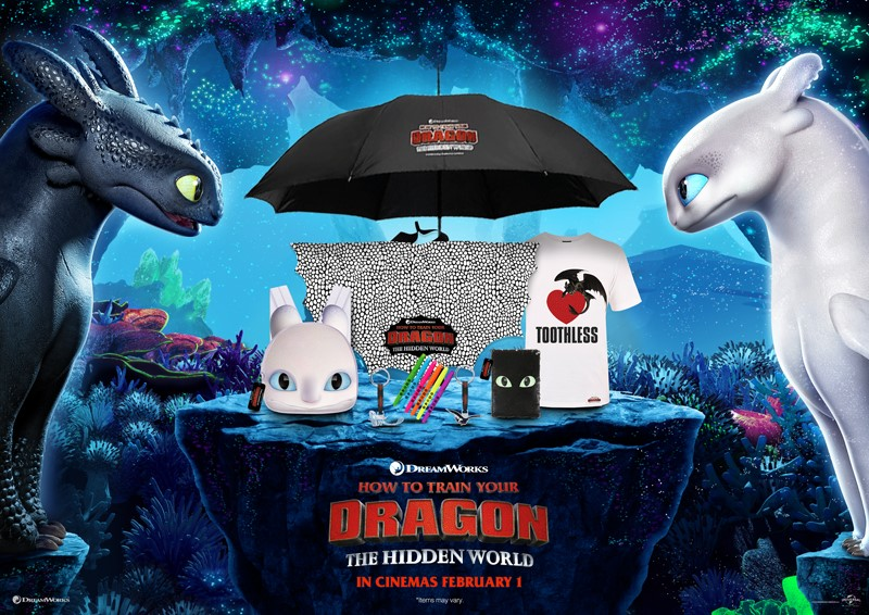 Terms and Conditions – competition to win How to Train Your Dragon: The Hidden World Bundles