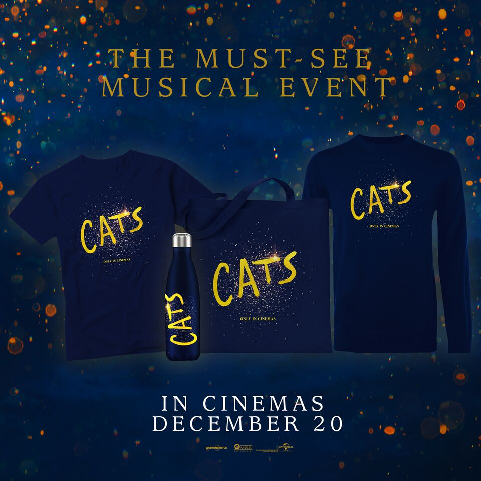 Terms and Conditions – competition to win Cats Merchandise Bundles